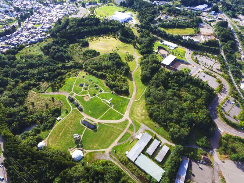 三内丸山センター上空写真