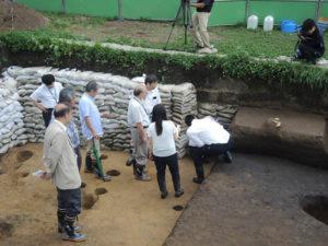 三内丸山遺跡発掘調査委員会を開催しました。
